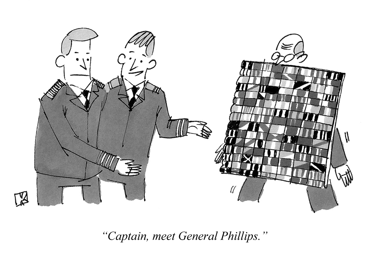 Captain, meet General Phillips.