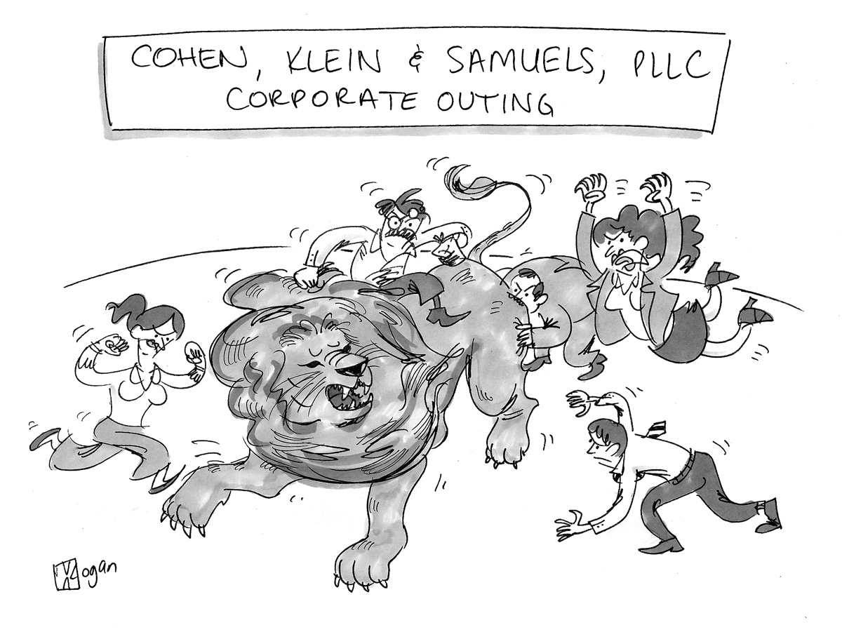 Cohen, Klein & Samuels, PLLC, Corporate Outing